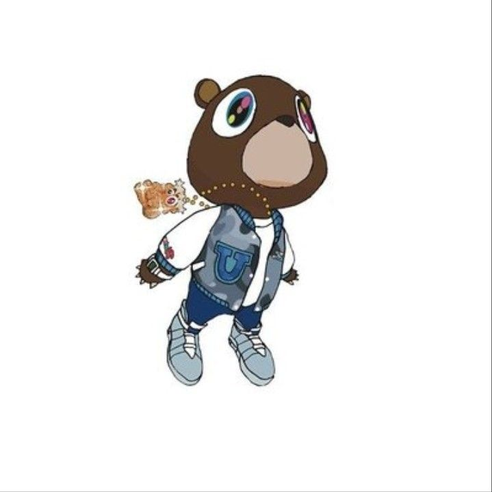 Pin By Demetrio On Drop Out Kanye West Graduation Bear Kanye West Graduation Graduation Bear