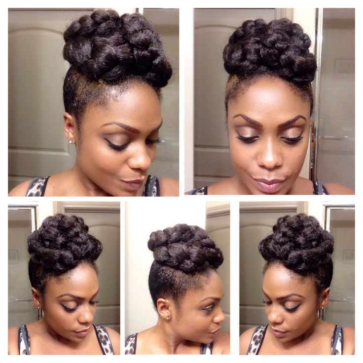 Natural Hairstyle Impressive 239 Best Natural Hair Styles For Corporate Work Images On Pinterest