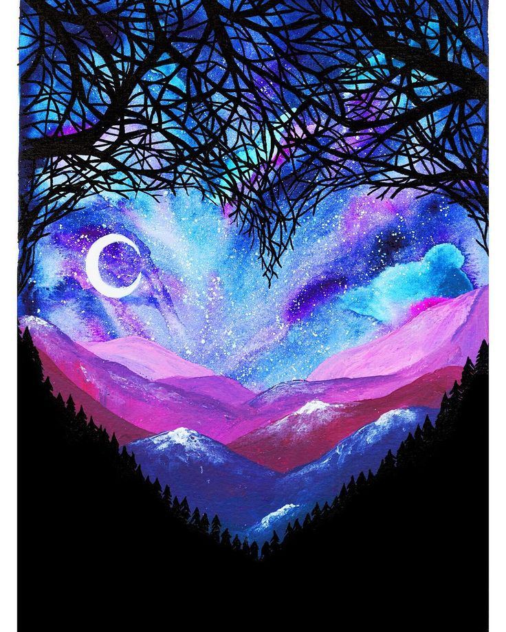 Fabulous Silhouette Painting by Danielle Foye.   UK based self employed artist Danielle Foye, has an eye for creating a wide range of watercolor paintings and designs.  http://www.funpalstudio.com/fabulous-silhouette-painting-by-danielle-foye/