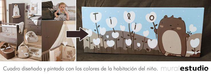 muralestudio - Cuadros infantiles personalizados con nombres.