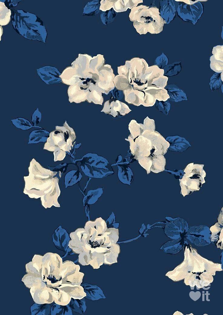 Navy Blue Wallpaper Iphone Backgrounds Phone Wallpapers Blue Wallpaper Iphone Blue Wallpapers Flower Wallpaper