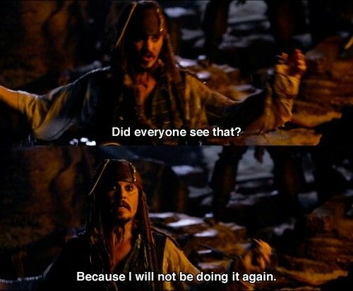 Jack Sparrow ladies and germs