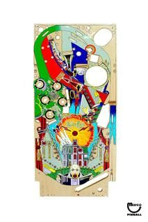 ADDAMS FAMILY (Bally) Playfield - 36-20017 - Marco Pinball Parts