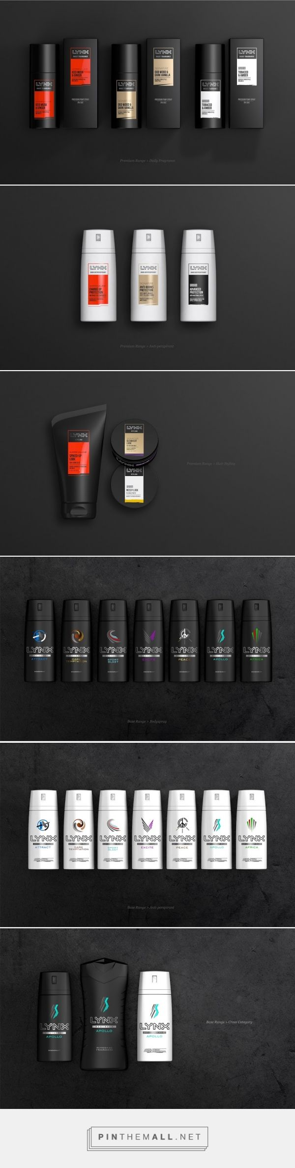 Lynx (Axe) Re-design - Packaging of the World - Creative Package Design Gallery - http://www.packagingoftheworld.com/2016/04/lynx-axe-re-design.html
