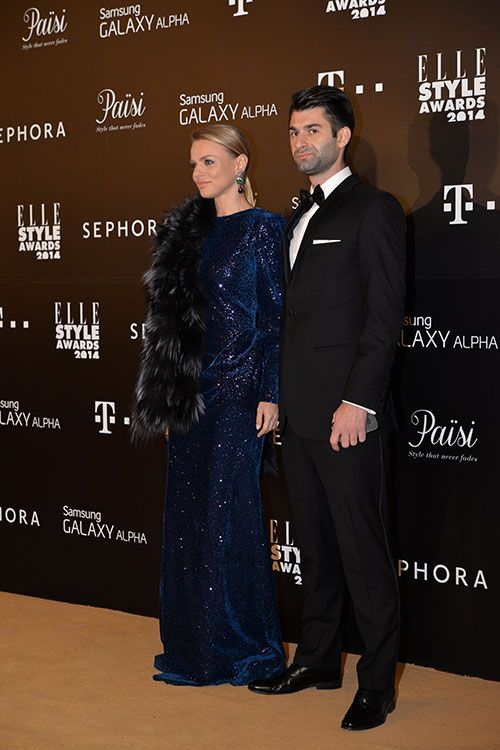 The Modern Duchess: Elle Style Awards - Catalina Grama in #paisifurs and Paul Ipate