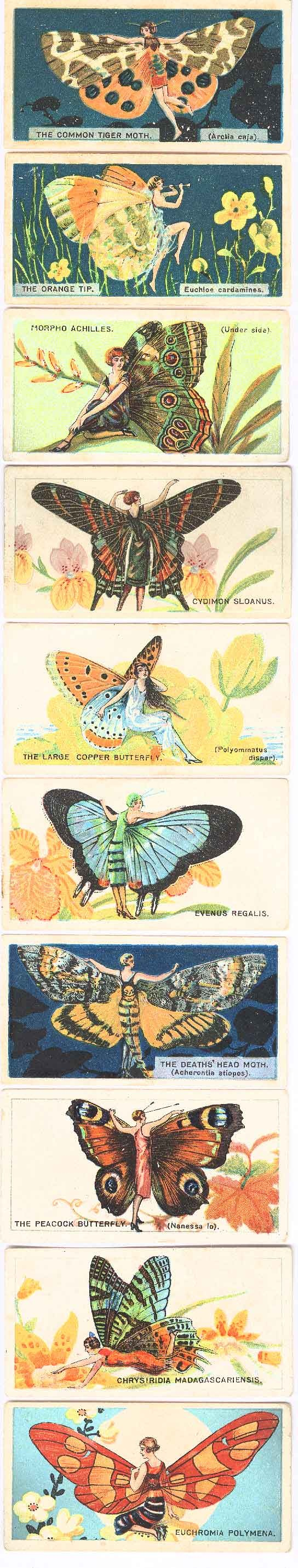 Players cigarette trading cards, c.1920