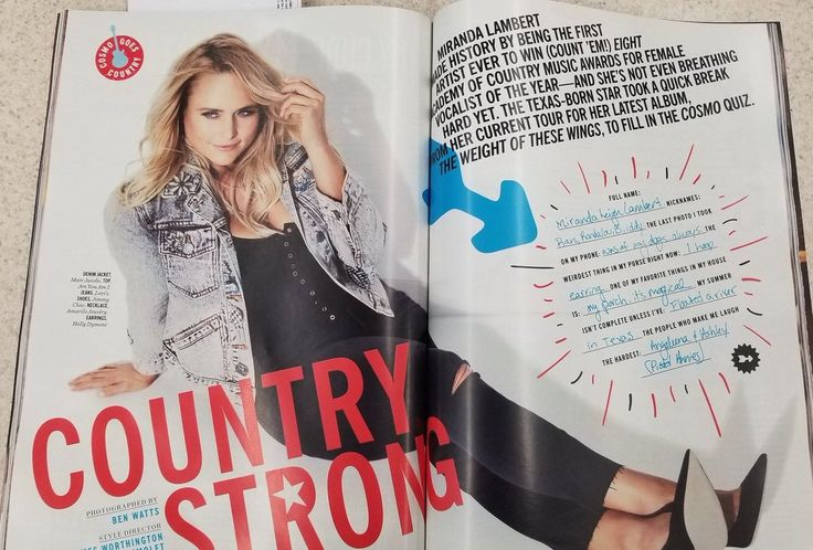 Image result for miranda lambert cosmo