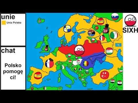 Alternatywna Przyszłość Europy #2 Rozbiór Niemiec i Upadek Rosji - YouTube