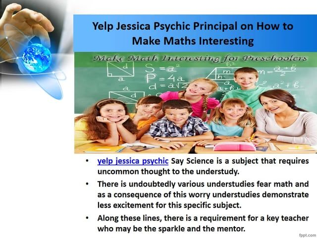 yelp jessica psychic Say Science is a subject that requires uncommon thought to the understudy. yelp jessica psychic suggest to the all student for more effort in education because science is a tuff subject. For getting more score in exam you need more effort and proper guide line. For more update about yelp jessica psychic and his guideline click here… https://yelpjessicapsychic.wordpress.com/