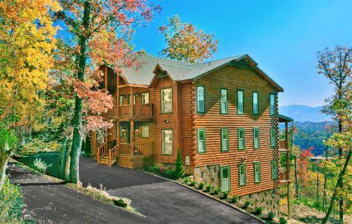 25 unique cabin rentals ideas on pinterest log cabin for Luxury pet friendly cabins in gatlinburg tn
