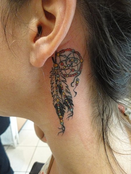Dream Catcher Tattoo  @Mariah Cook   eeekk!! love this!