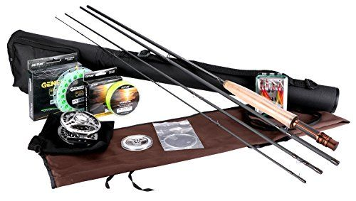 Goture Fly Fishing Rod and Reel Combos Fit Saltwater Freshwater 5/6 and 7/8 for Beginner and angler with Fly Line Fly Lures Full Kit with Rod Case - New! Honor 5-6 without cork butt cap  http://fishingrodsreelsandgear.com/product/goture-fly-fishing-rod-and-reel-combos-fit-saltwater-freshwater-56-and-78-for-beginner-and-angler-with-fly-line-fly-lures-full-kit-with-rod-case/?attribute_pa_color=new-honor-5-6-without-cork-butt-cap  The contents of the package: A fly fishing rod w