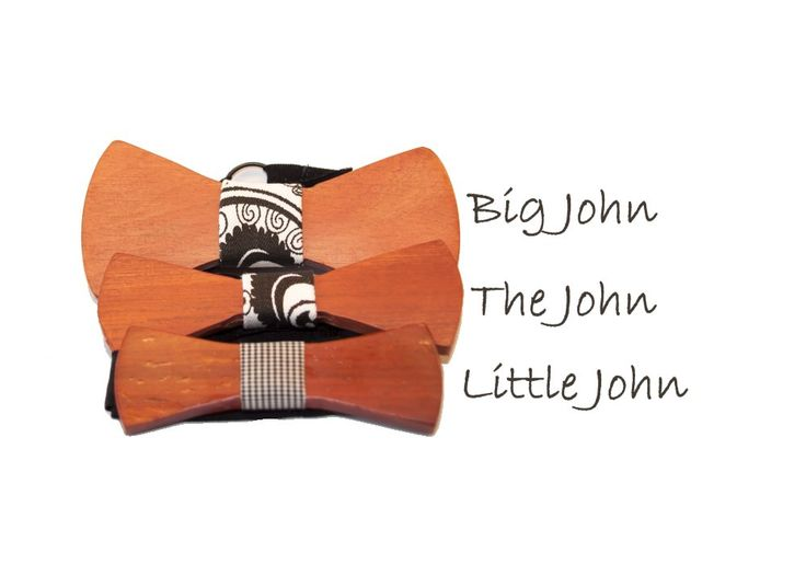 """The 3 different sizes of """"The John"""""""