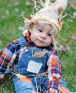 Cute baby costume ideas: Baby Scarecrow Homemade Costume