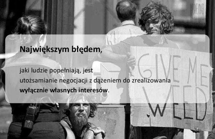 Błąd #1, gdy myślimy o negocjacjach by Lukasz Laniecki via slideshare