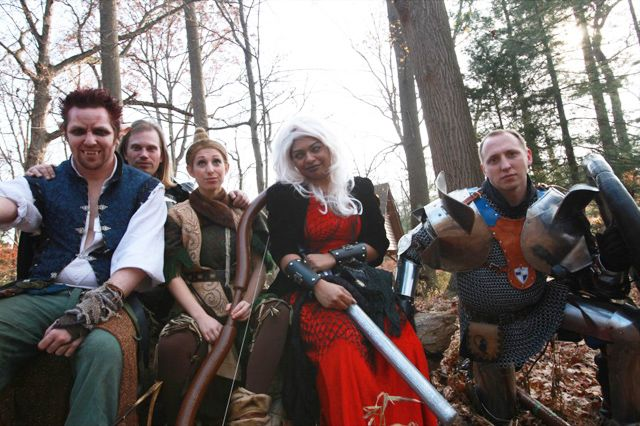 I really want to LARP. It's on the too of my bucket list