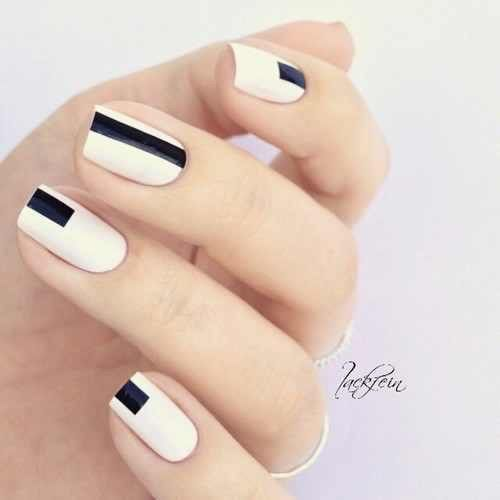 +80 Diseños de uñas decoradas color negro | Decoración de Uñas - Nail Art - Uñas decoradas - Part 8