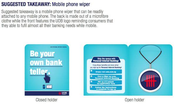 UOB Personal Internet Banking Awareness Pitch by Lee Lye Urn, via Behance