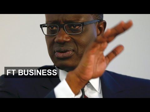 Tidjane Thiam defends investment banking | FT Business - YouTube