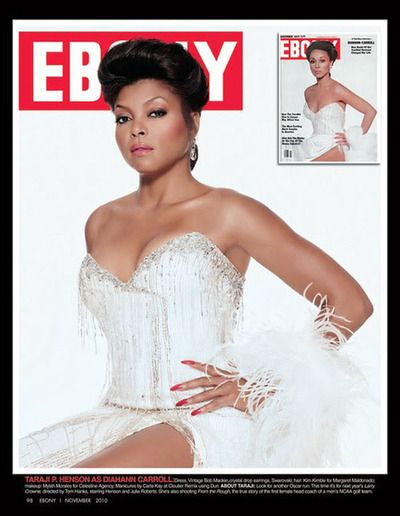 To celebrate its 65th anniversary issue and icons of the past and present, EBONY magazine asked their favorite entertainers to pose in modern-day recreations of those covers for a one-of-a-kind look back at the past.  Featuring: Regina King (as Eartha Kitt), Mary J. Blige (as Diana Ross), Nia Long (as Dorothy Dandridge), John Legend (as Duke Ellington), Lamman Rucker (as Richard Roundtree), Taraji P. Henson (as Diahann Carroll), Jurnee Smollett (as Lena Horne),