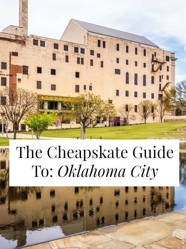 Free and cheap things to do in Oklahoma City! $1.25 mochi ice cream, free botanical gardens, camping by the lake for $8! // yesandyes.org