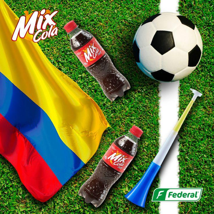 ¡Vamos Tricolor!  Apoyemos a nuestra selección en este importante encuentro, júntate con tus amigos y ponle todo el Flow para lograr la clasificación. #DondeHayMixHayFlow #seleccioncolombia