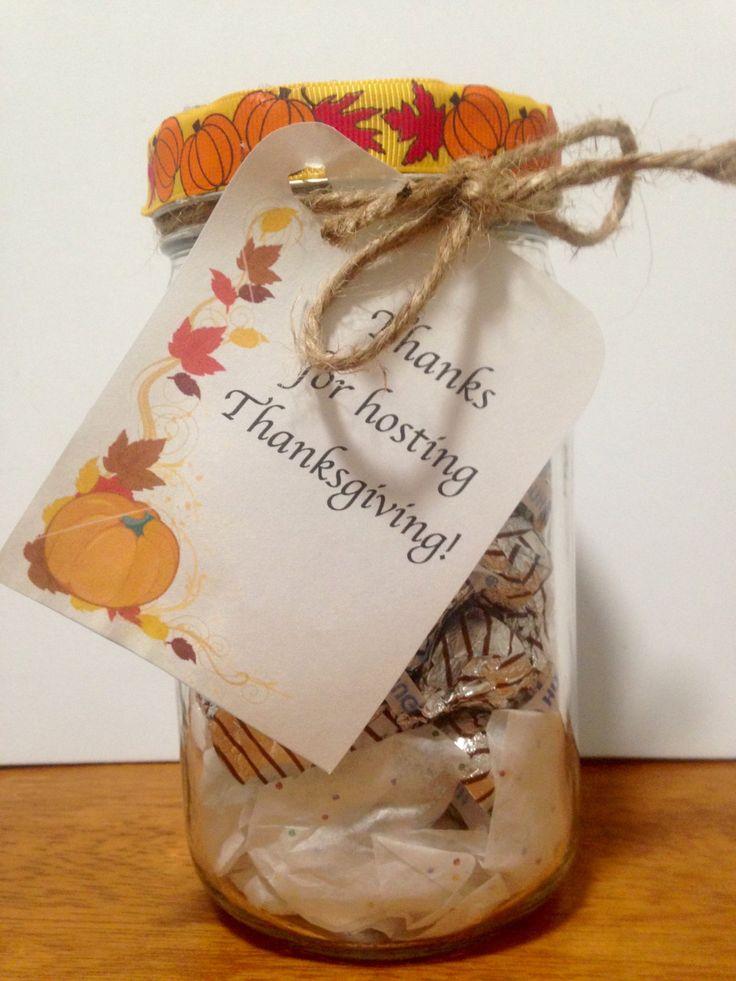 Thanksgiving hostess gift Thanksgiving host gift Thanksgiving gift Thanks gift by ColorYourWorldStudio on Etsy