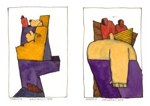 Purple Pants – 14 Bells Fine Art Gallery