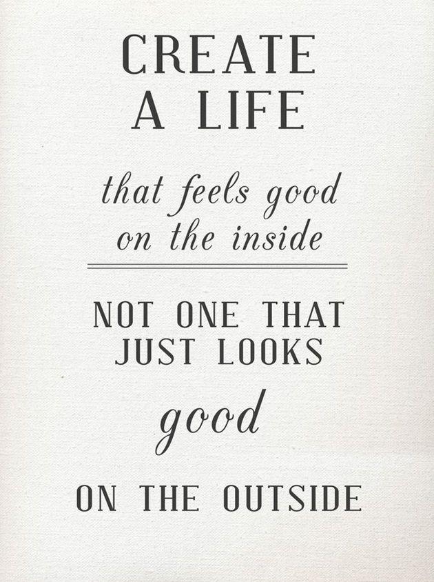 For å skinne på utsiden må man være lykkelig fra innsiden ♥