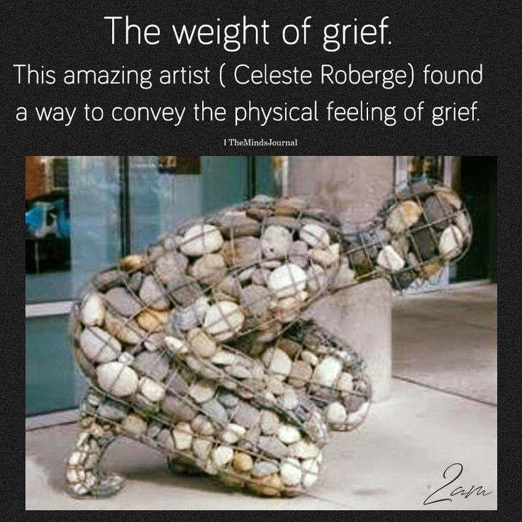 The Weight Of Grief – #beto #Grief #weight