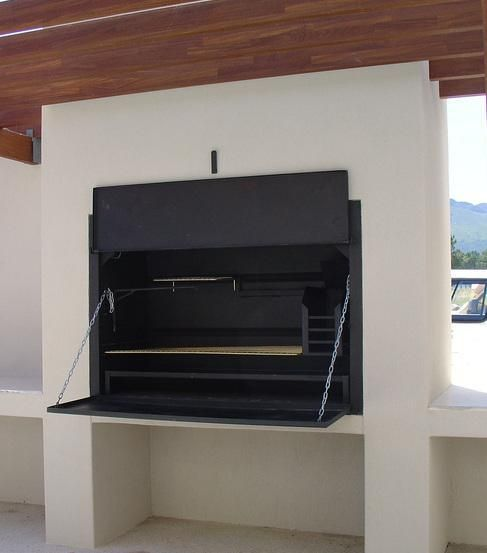 Our 1200 built-in Braai