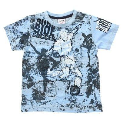 Light Blue Soccer T-Shirt-C1836-Light-Blue $14.00 on Ozsale.com.au