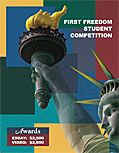 $2,500 First Freedom Student Competition for students in grades 9-12. Deadline to register is Nov. 18: High Schools Students, Freedom Students, Students Competition
