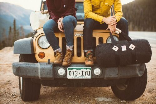 Nothing better than a Jeep for a Nature-filled RoadTrip!