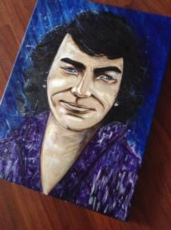 Handpainted canvas artwork NEIL DIAMOND Interpretation | Art | Gumtree Australia Banyule Area - Bundoora | 1117024381