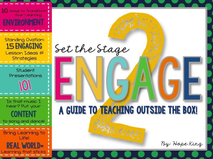 Classroom Engagement Ideas ~ Best ideas about student engagement on pinterest