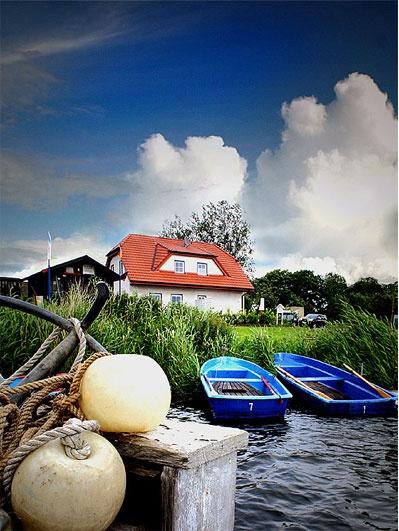 Haus am Selliner See Ferienhaus rügen, Haus am see