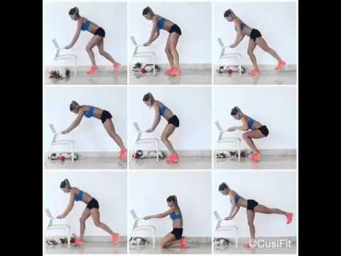 CusiFit ejercicios para piernas y glúteos - YouTube