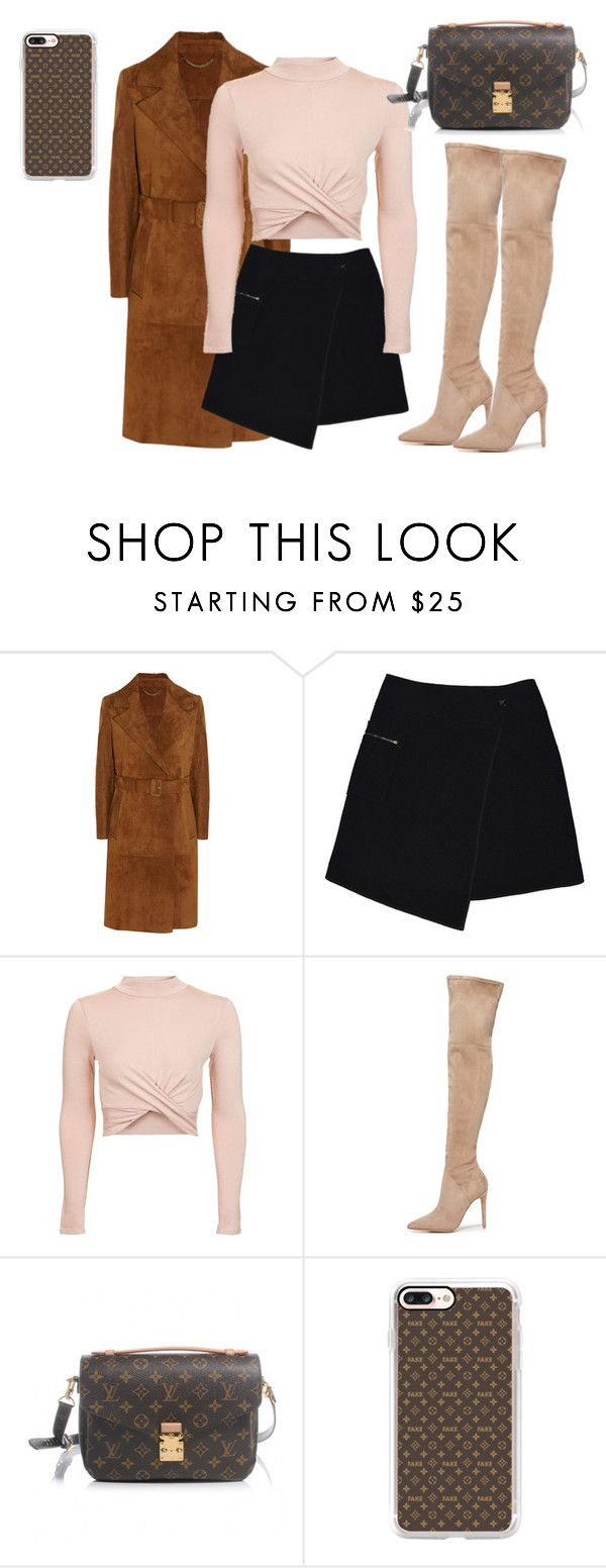 """#Lv days"" by joe-khulan on Polyvore featuring Burberry, MARC CAIN, Topshop, Kendall + Kylie, Louis Vuitton and Casetify"