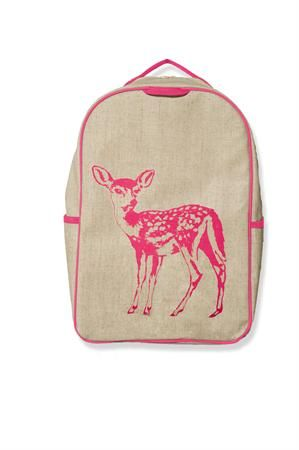 Kids Bags : SoYoung Grade School Backpack ~ Pink Fawn