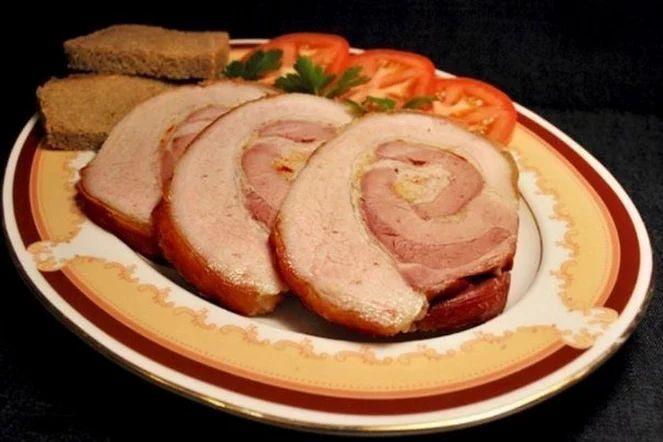 Пряный рулет из свинины | Кулинарные Рецепты