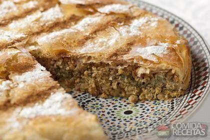 Receita de Torta madalena de carne em receitas de tortas salgadas, veja essa e outras receitas aqui!