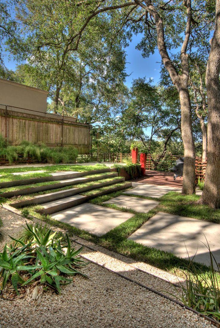 1000 ideas about steep backyard on pinterest sloped for Terraced yard ideas
