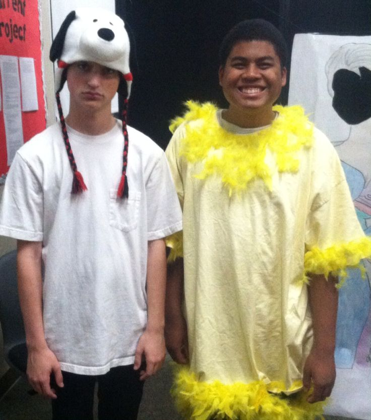 Snoopy And Woodstock Halloween Costumes
