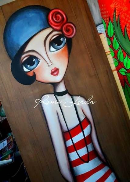 37 Trendy Fashion Illustration Watercolor Face Mixed Media
