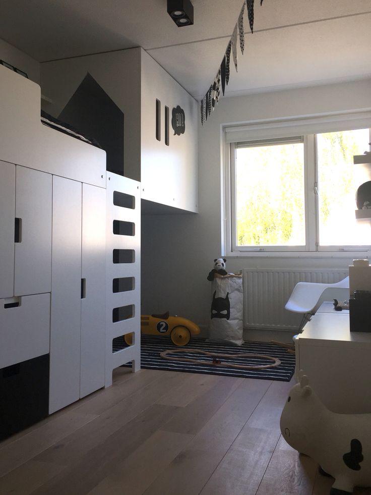 die besten 25 ikea hochbett stuva ideen auf pinterest ikea hack stuva etagenbett schiene und. Black Bedroom Furniture Sets. Home Design Ideas