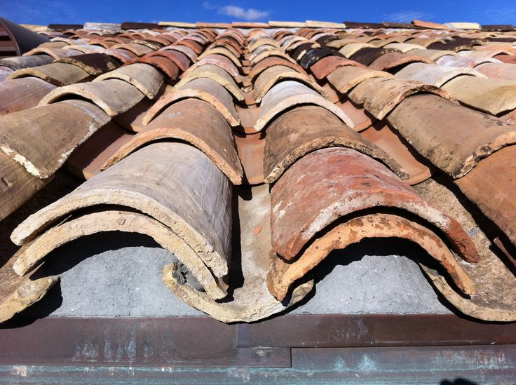 French Roofs Reclaimed French Roof Tiles Antique Clay