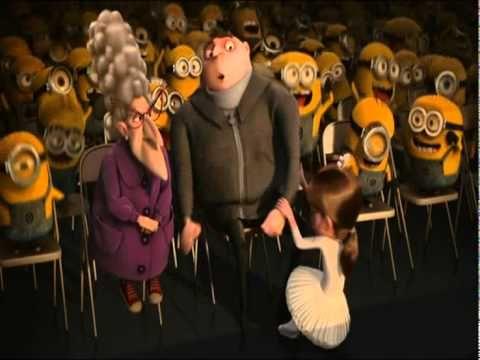 Kort Minionfilmpje met dans