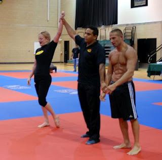 Jiu Jitsu; you can't just be tough, you have to be tactical and smart