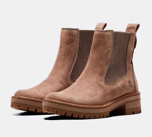 bfc812efbc Timberland Courmayeur Valley Chelsea Boot   Medium Grey   Footasylum ...